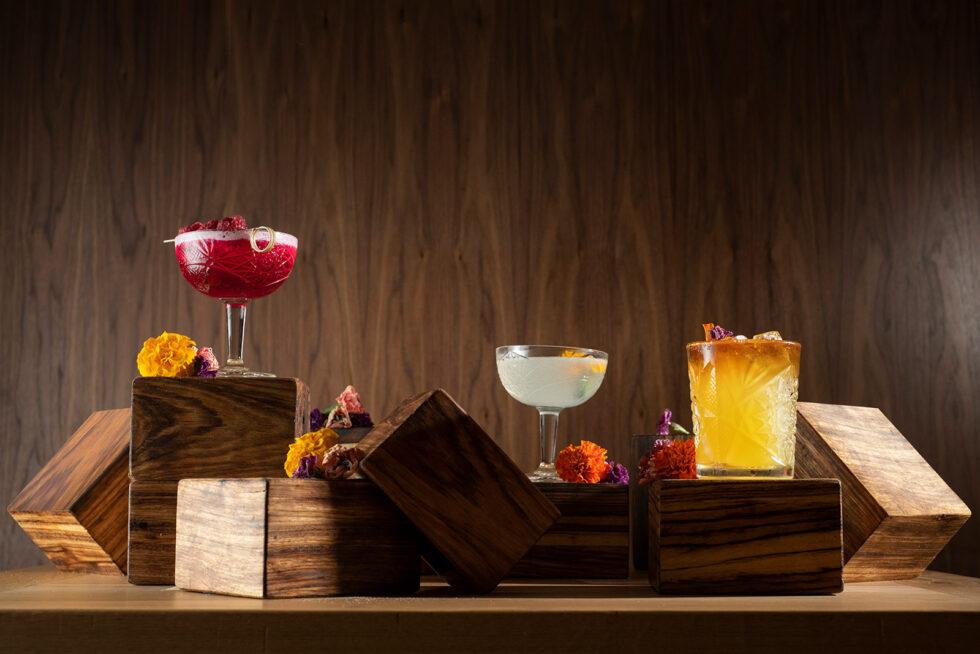 Cocktails Crystal glasses