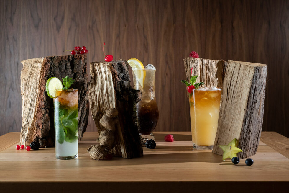 Cocktails logs 2