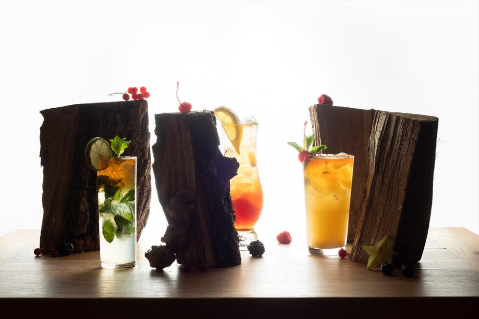 Cocktails logs