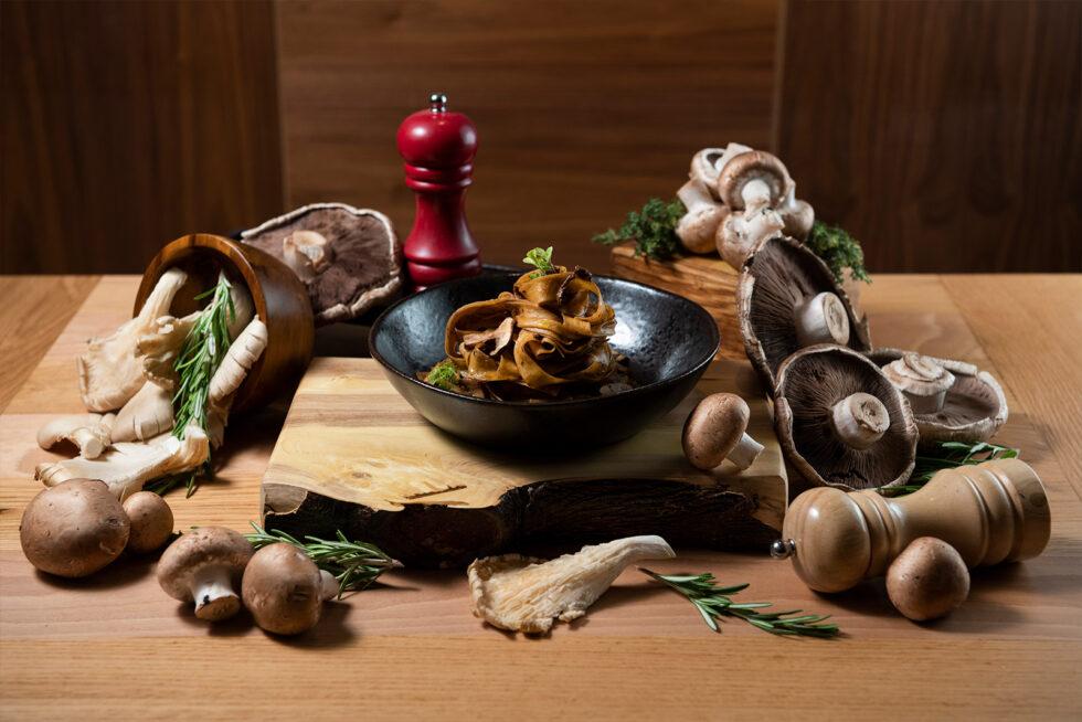 Pasta mushrooms