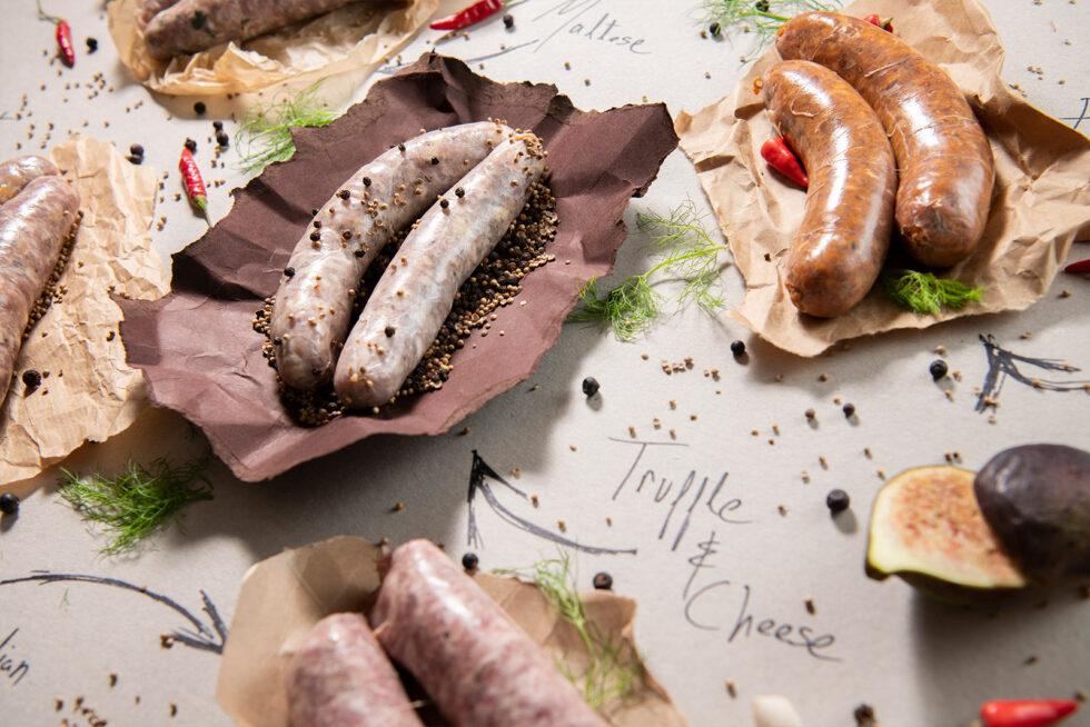 Sausages angle