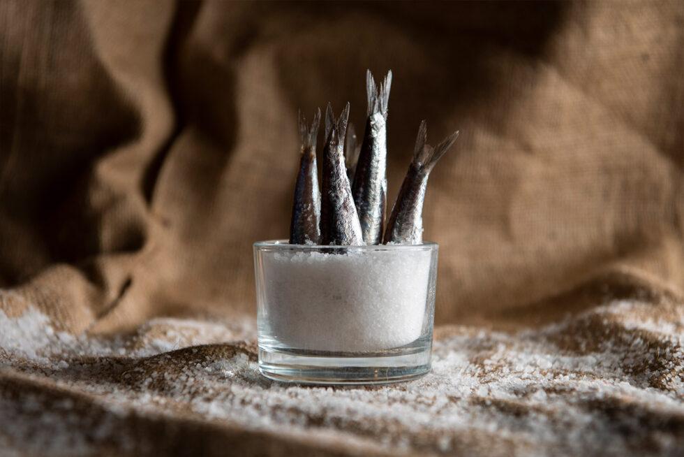 Whitebait in Salt