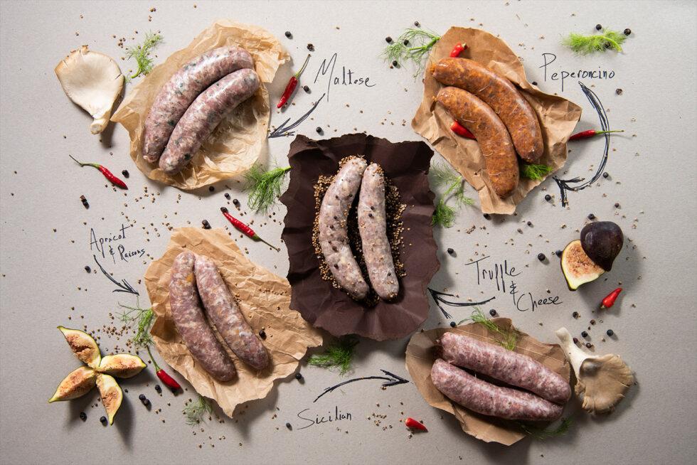 sausages top